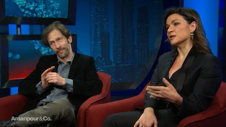 Amanpour and Company: Tim Blake Nelson & Afroditi Panagiotakou Talk Socrates