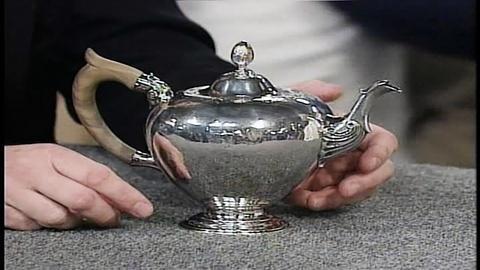 Antiques Roadshow -- Appraisal: Elias Pelletreau Silver Teapot, ca. 1750