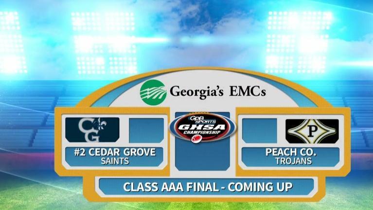Football Fridays in Georgia: 2018 GHSA Football Championships (3A) (12/11/18)