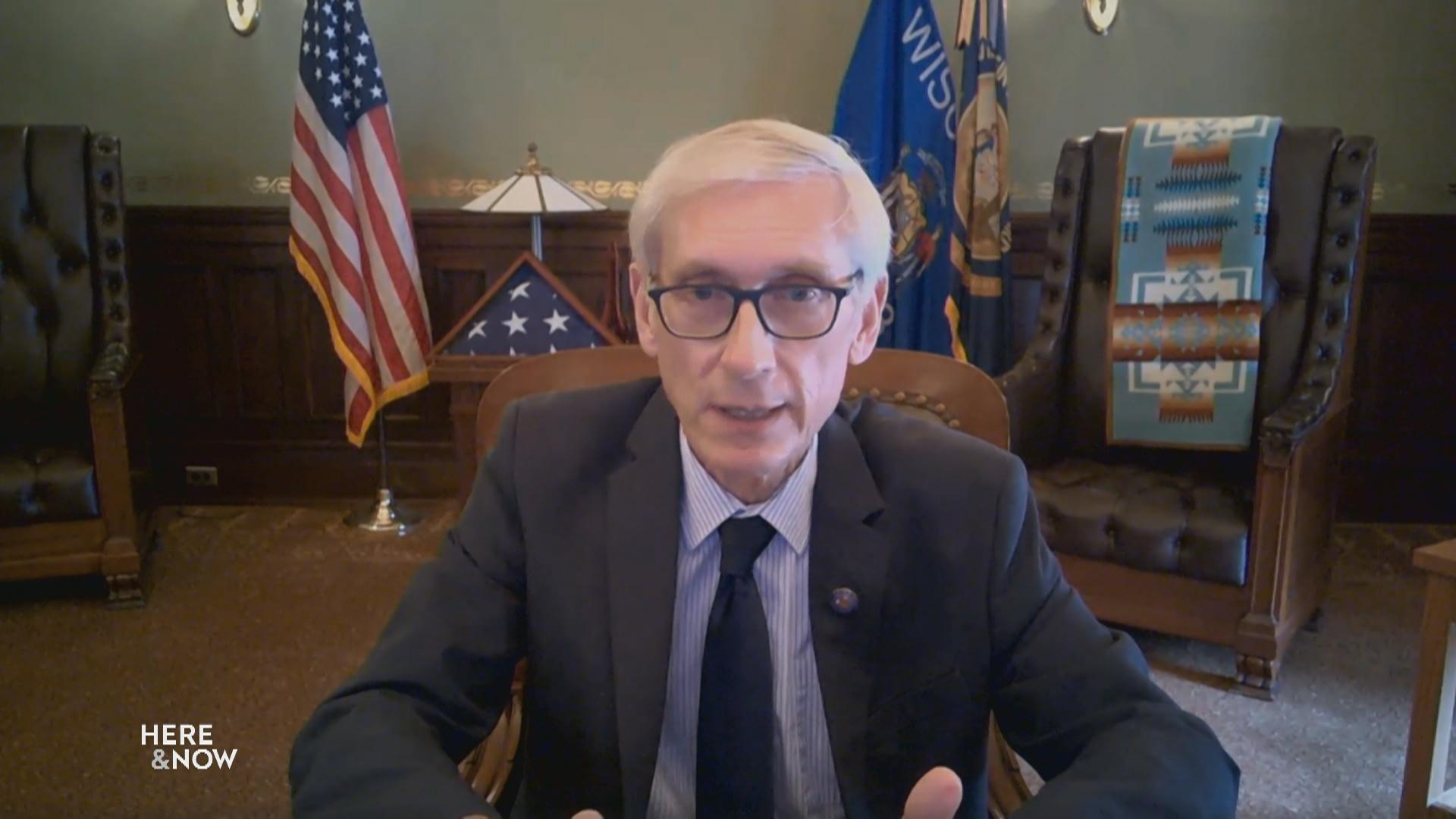 Gov. Tony Evers Outlines Criteria for Reopening the State