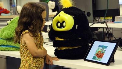 NOVA | This Cute Robot Uses Sophisticated AI to Help Teach Kids