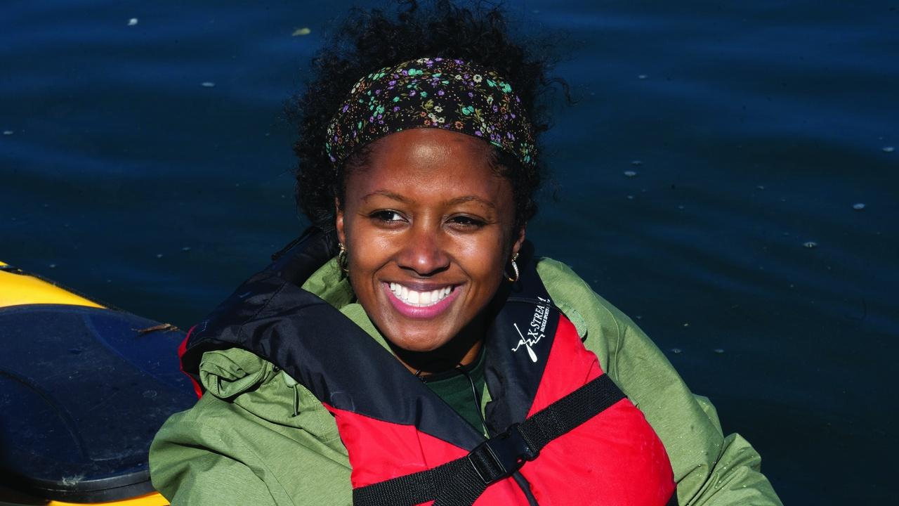 Kayaking With Outdoor Afro