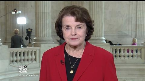 PBS NewsHour -- Feinstein: Comey memos to be turned over one way or another