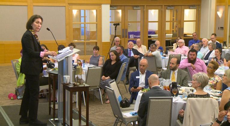 The City Club Forum: The Spread of Suicide Contagion and Ways to Contain It