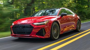 2021 Audi RS7 & 2021 Honda Odyssey