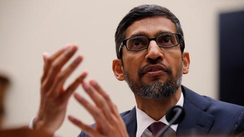 PBS NewsHour -- Lawmakers grill Google CEO on concerns of bias, privacy