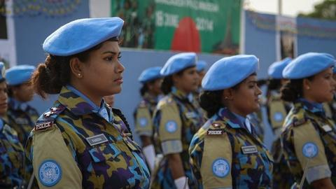 Women War and Peace -- A Journey of a Thousand Miles: Peacekeepers