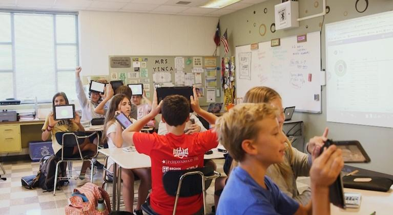 KLRU SciTech Now: Screens In School: Beyond The Digital Classroom