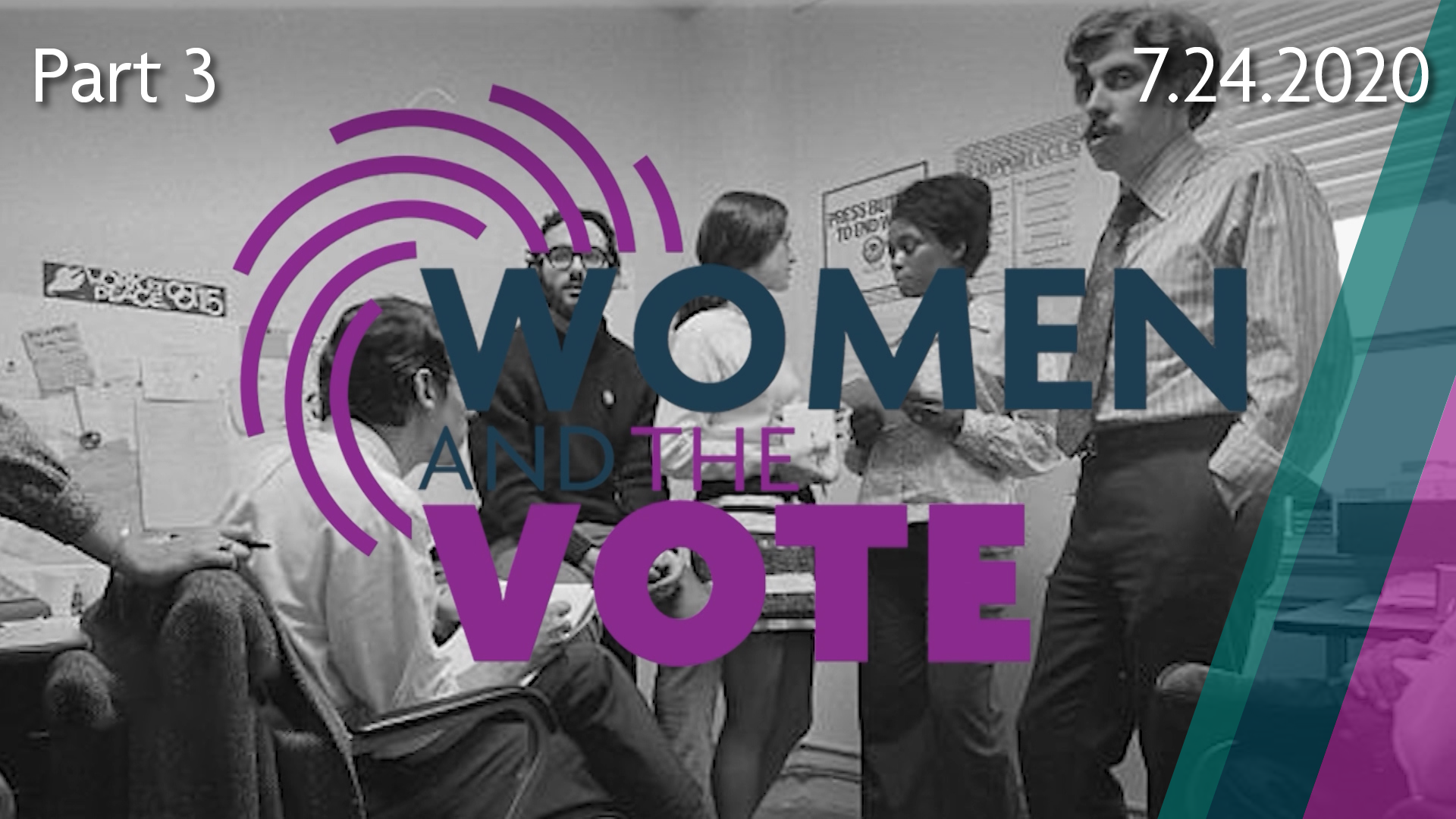 Women and the Vote, Part 3