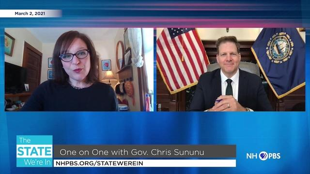 3/2/2021 - One on One with Gov. Chris Sununu