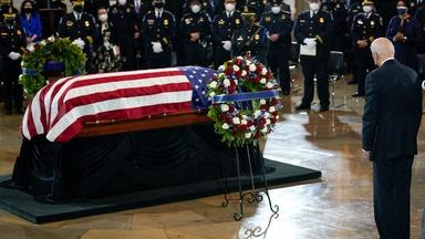 News Wrap: Slain U.S. Capitol Police officer honored