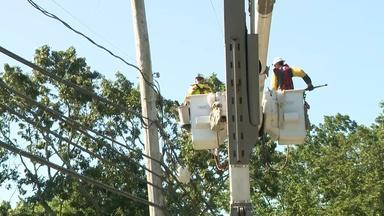 Crews work to restore power to Isaias-hammered New Jersey