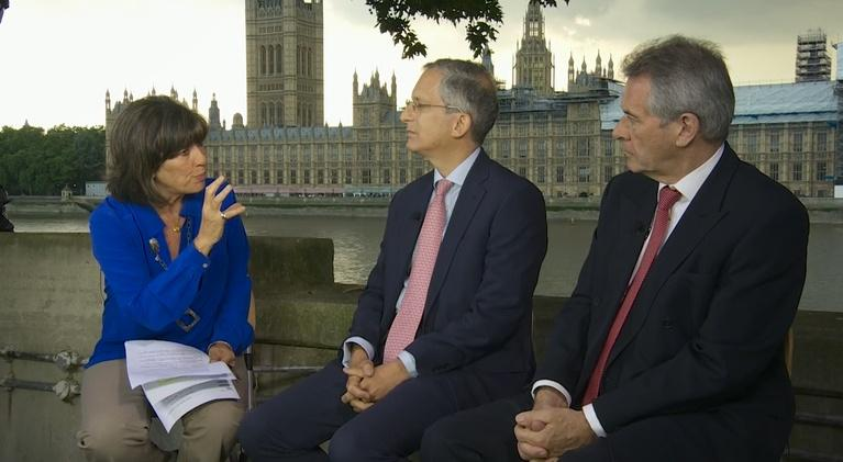 Amanpour on PBS: Amanpour: Anthony Gardner, Peter Westmacott and Sadiq Khan