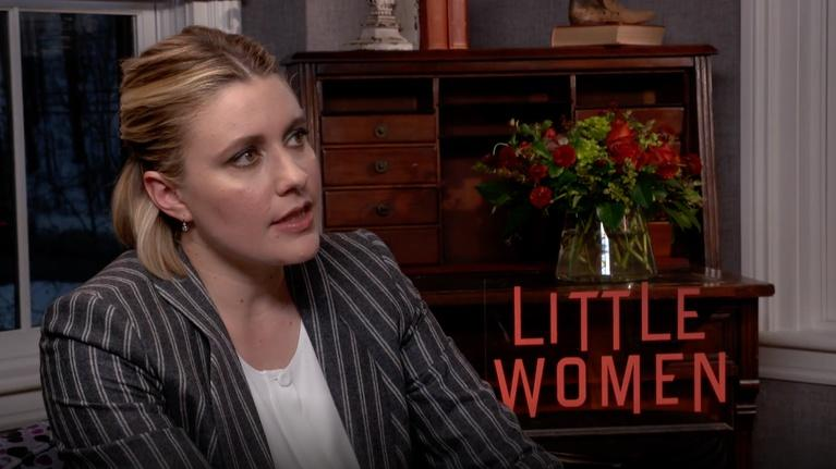 "Flicks: Greta Gerwig for ""Little Women"""