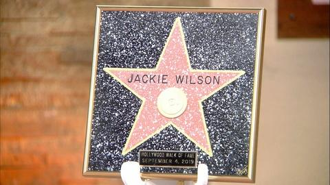 American Black Journal -- Jackie Wilson's Star on the Walk of Fame