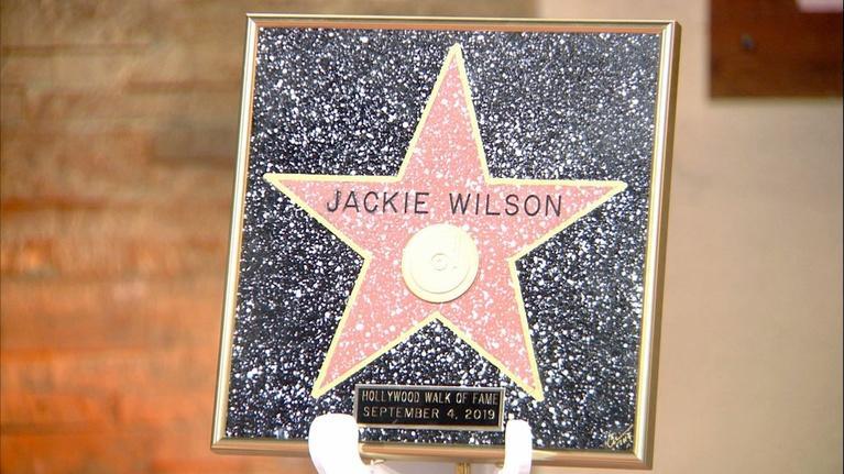 American Black Journal: Jackie Wilson's Star on the Walk of Fame