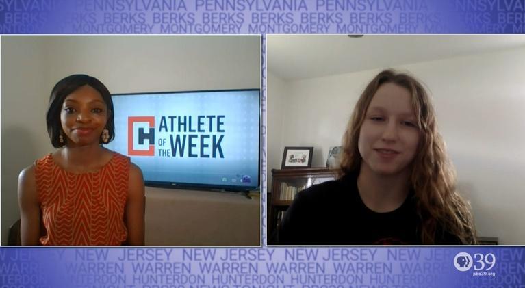 WLVT Athlete of the Week: Female Athlete of the Week Alexa Brinker