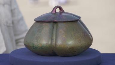 Appraisal: Weller Sicard Covered Jar, ca. 1905