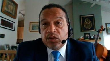 Minnesota Attorney General Keith Ellison is suing ExxonMobil