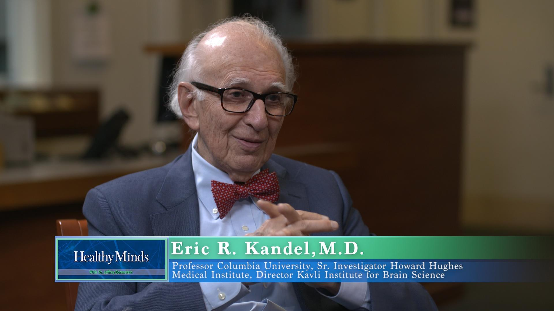 Brain Science and Art: Nobel Laureate, Dr  Eric Kandel