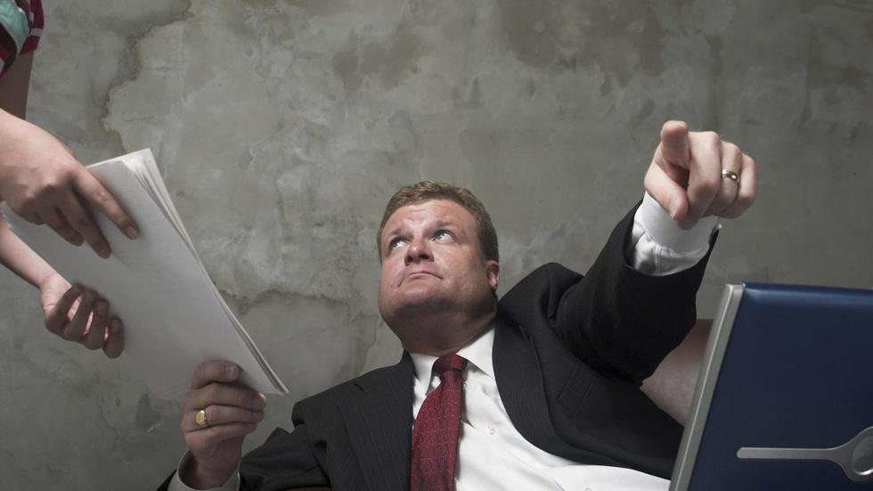 When risk means reward, angry CEOs dominate image