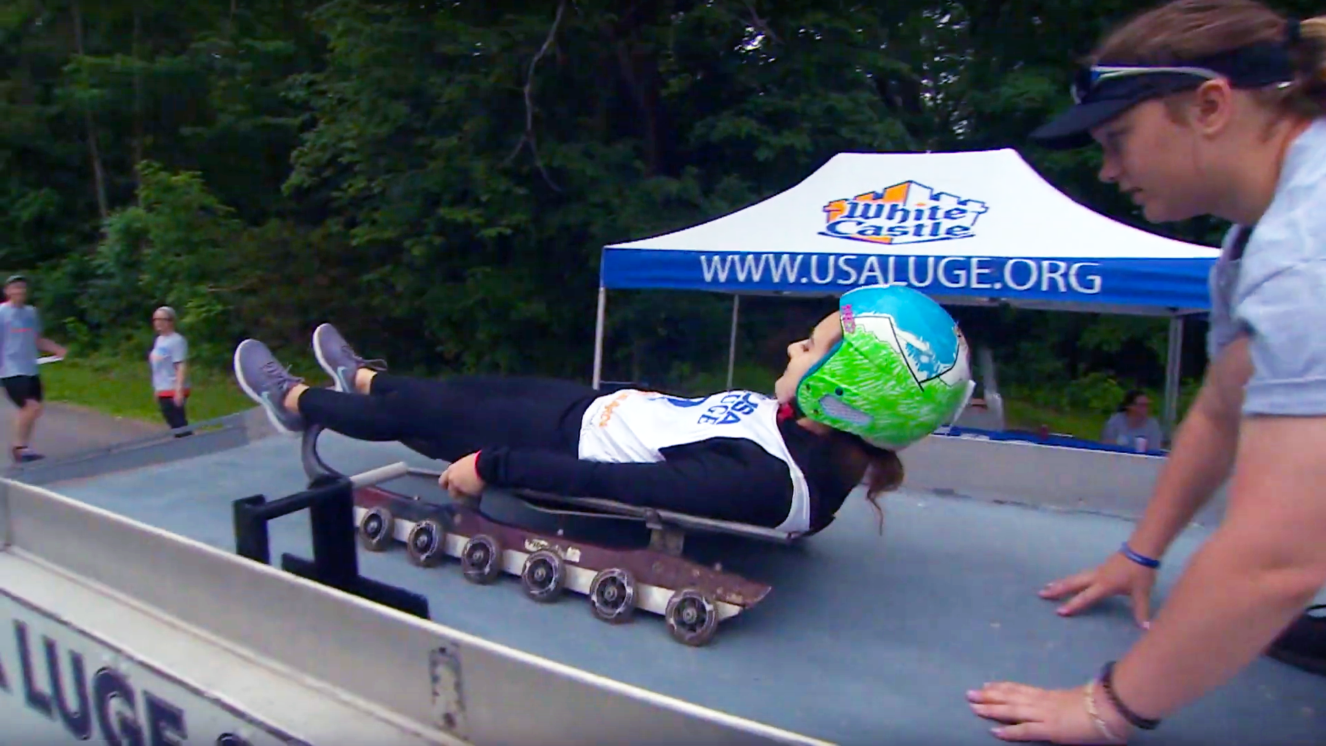 Outdoor Wisconsin #3604 - Luge Clinic/Adventure Rafting