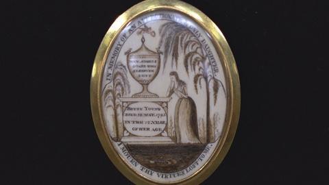 Antiques Roadshow -- S21 Ep19: Appraisal: 18th-Century Ivory Miniatures