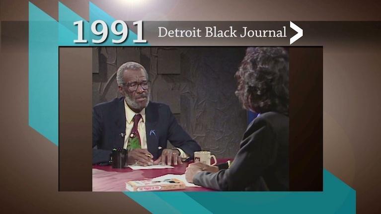 American Black Journal: Detroit Black Journal Clip:  Wally Amos