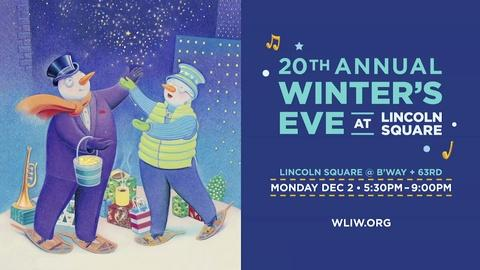 WLIW21 Previews -- Winter's Eve in New York City with WLIW21