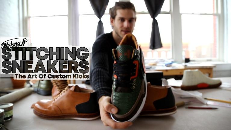 WVIZ/PBS ideastream Specials: Sneakers From Scratch With JBF Customs in Cleveland