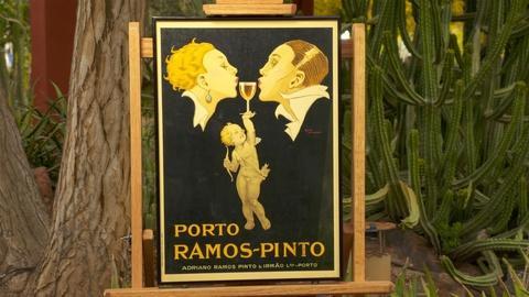 "S24 E10: Appraisal: René Vincent ""Porto Ramos-Pinto"" Poster, ca. 1920"