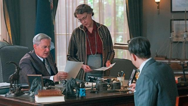 Kyle MacLachlan on Franklin & Eleanor Roosevelt