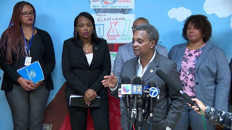 Chicago Tonight: Lightfoot Asks CTU to End Strike Before Deal is Finalized