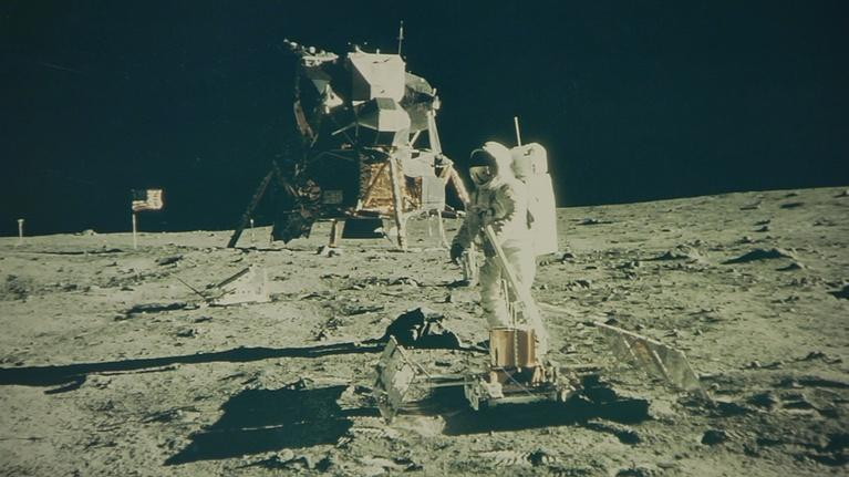 """Open Studio with Jared Bowen: """"Apollo 11 at Fifty"""" &  Actor and Musician Alicia Witt"""