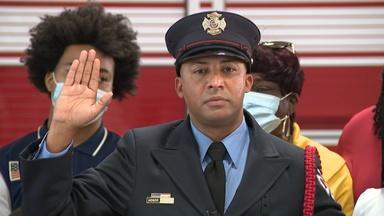 Perth Amboy promotes first African American fire captain