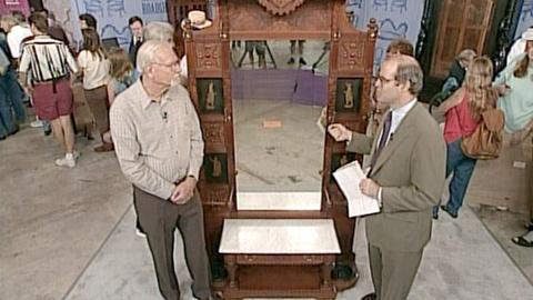 Antiques Roadshow -- S21 Ep21: Appraisal: Ben Thompson's Hall Stand, ca. 1879