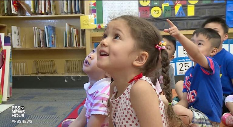 PBS NewsHour: A Kindergarten preview helps families hit the ground running