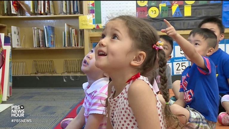 PBS NewsHour: A Kindergarten preview helps families hit the ground running