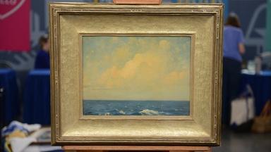 Appraisal: Hermann Dudley Murphy Painting, ca. 1910