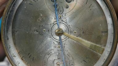 Appraisal: Goldsmith Chandlee Surveyor's Compass, ca. 1790