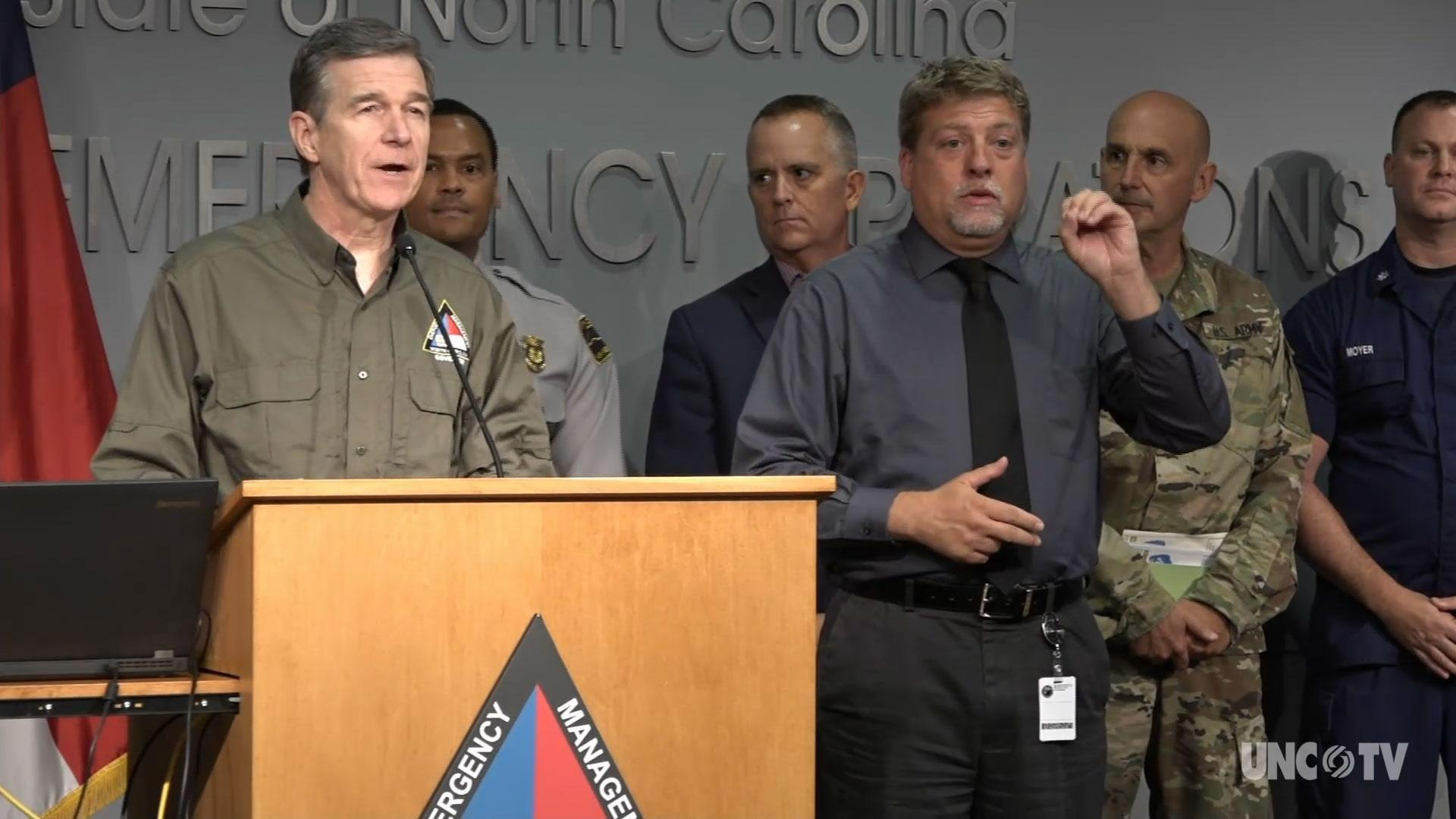 NC Gov. Cooper: Weather Briefing 4:00 PM 09/05/19