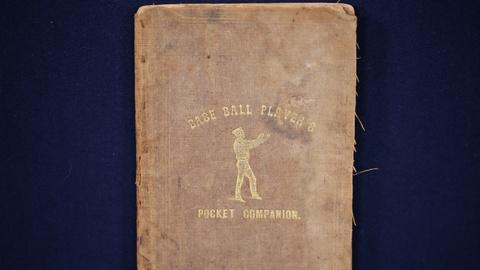"Antiques Roadshow -- Appraisal: 1859 ""Base Ball Player's Pocket Companion"" Book"