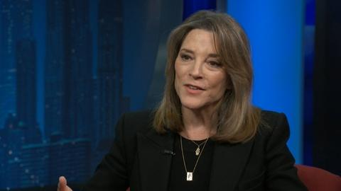 """Amanpour and Company -- Marianne Williamson: """"We Need to Create a Phenomenon"""""""