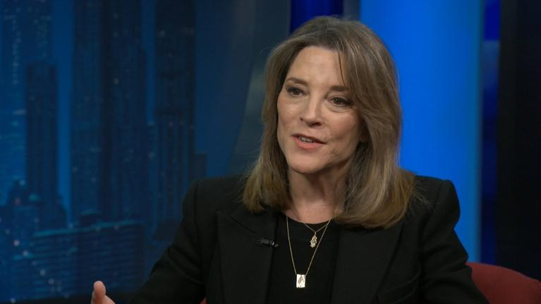 "Amanpour and Company: Marianne Williamson: ""We Need to Create a Phenomenon"""