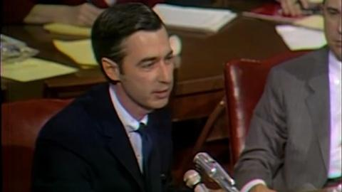 MISTER ROGERS GOES TO WASHINGTON