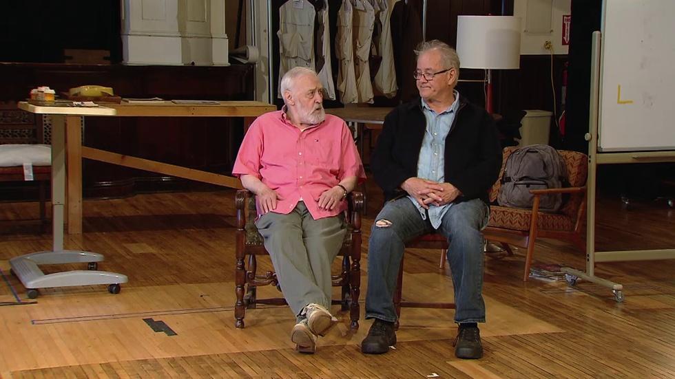 John Mahoney, Francis Guinan Discuss 'The Rembrandt' image