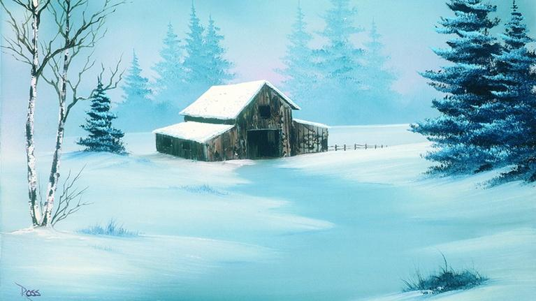 The Best of the Joy of Painting with Bob Ross: In the Midst of Winter