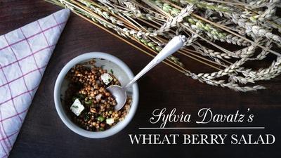 Sylvia Davatz's Wheat Berry Salad