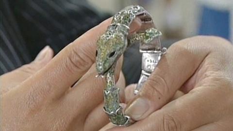Appraisal: Margot de Taxco Snake Bracelet, ca. 1950