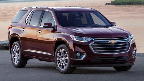 2018 Chevrolet Traverse & 2017 Mazda CX-5